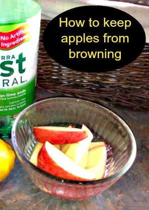 Apple Season Is Almost Here- Tips To Keep Them From Browning