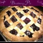 Super Simple Homemade Blueberry Pie With Lattice Crust