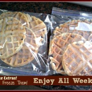 How To Make Restaurant Style Homemade Belgian Waffles