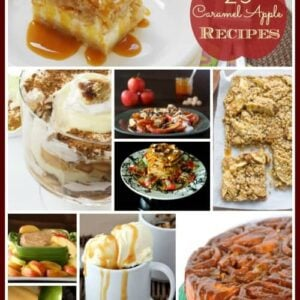 25 Indulgent Caramel Apple Recipes- Desserts, Drinks & More