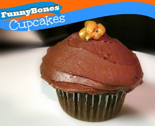 Semi-Homemade FunnyBones Cupcake Recipe 1