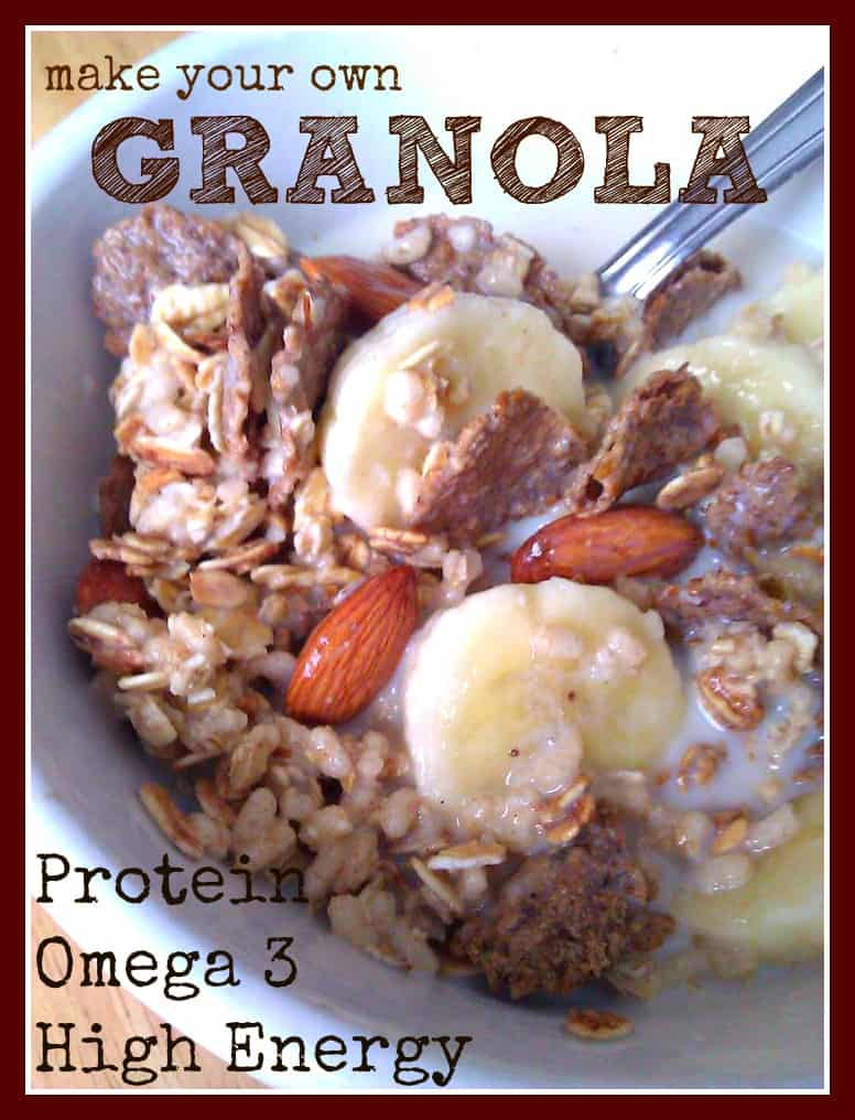 How To Make Your Own High Energy Granola Mix With Omega 3's
