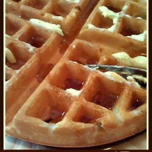 How To Make Restaurant Style Homemade Belgian Waffles   1
