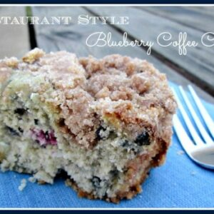 Restaurant Style Blueberry Streusel Coffee Cake Recipe   1