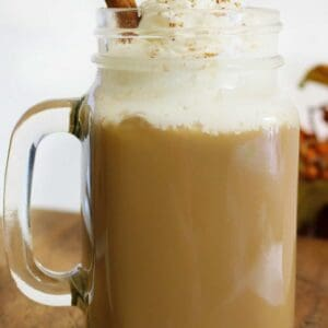 Pumpkin Spice Latte Recipe- Easy & Low Fat