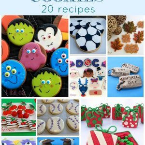 How To Make Cute & Creative Special Occasion Cookies- 20 Recipes   1