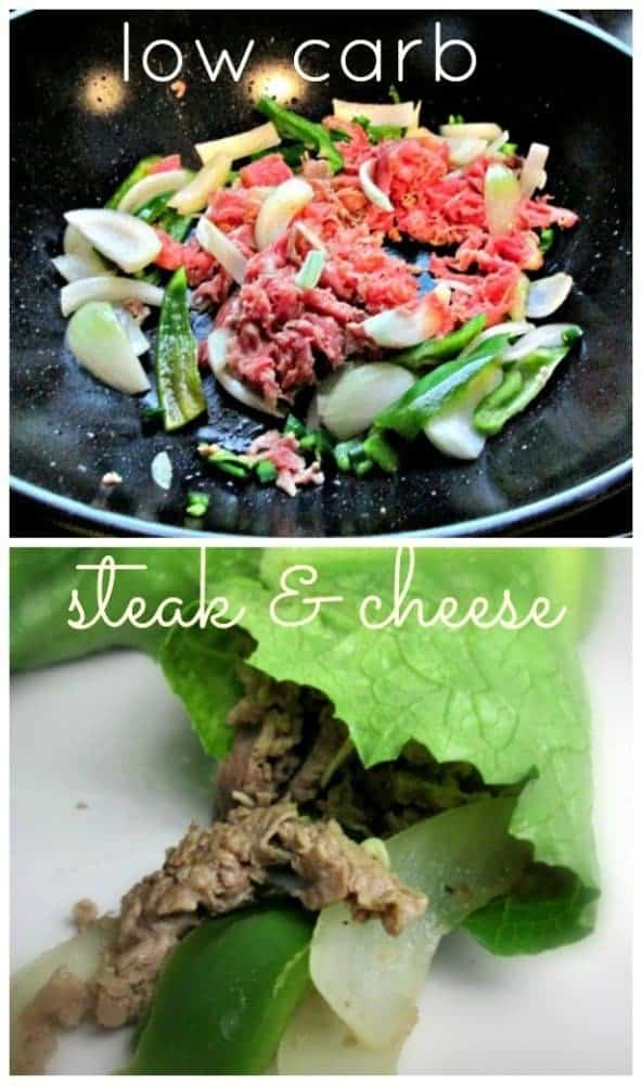 Low Carb Spicy Steak & Cheese #15MinuteSuppers