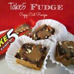 Easy Take5 Candy Bar Fudge Copy Cat Recipe