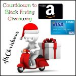 $1000 Visa GC – Countdown To Black Friday Giveaway