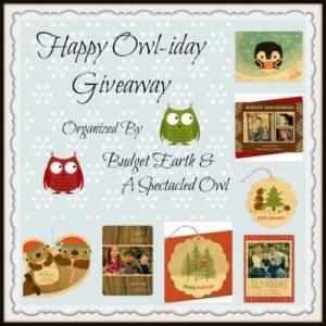 Happy Owl-idays Giveaway 1