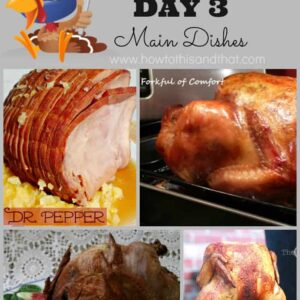 13 Days of Thanksgiving DAY 3 – Main Dishes