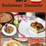 13 Days of Thanksgiving Day 5 – Desserts Part 1