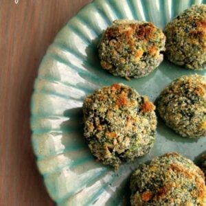 Parmesan Crusted Spinach Balls With Feta Cheese (Optional) 1