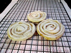 Quick & Easy Cinnamon Roll Pinwheel Sugar Cookies