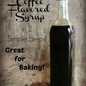 Quick & Easy Homemade Coffee Flavored Syrup Extract 2