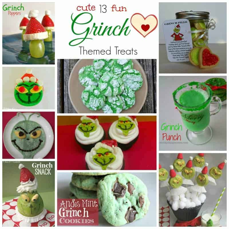 Grinch Themed Treats
