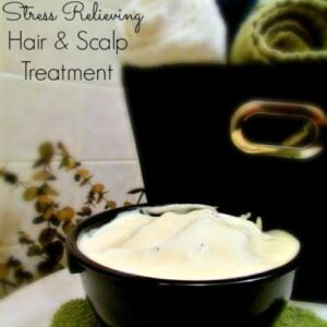 DIY Stress Relieving Lavender Hair & Scalp Treatment 1