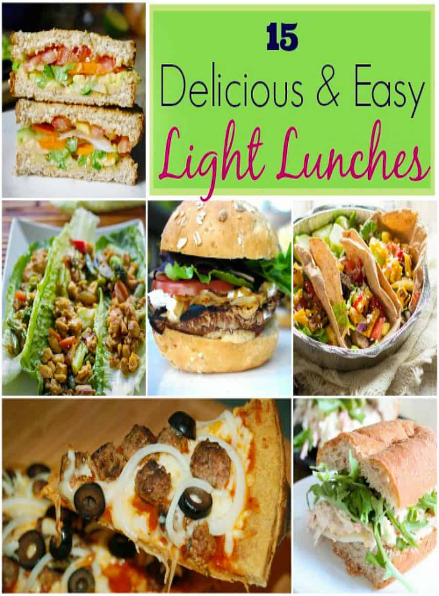 light lunch recipes