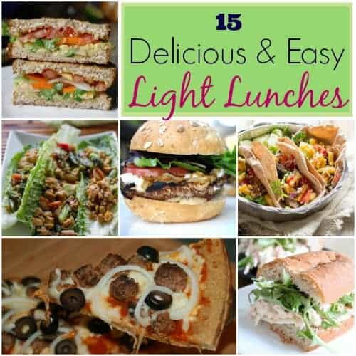 15 Delicious & Easy Recipes For Light Lunches