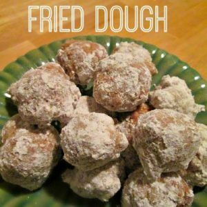 Easy Fried Dough At Home In 5 Minutes