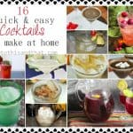 16 Quick & Easy Cocktails To Make At Home