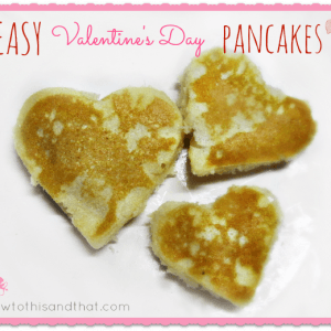 Easy Valentine's Day Heart Pancakes     1