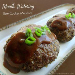 Keto Meatloaf Recipe – Slow Cooker Version