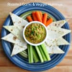 How To Make Roasted Garlic & Veggie Hummus