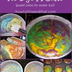 How To Make A Tie Dyed Cake The Easy Way