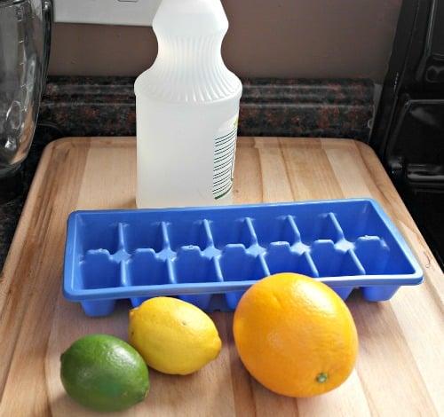 DIY Citrus Garbage Disposal Cleaner & Deodorizer