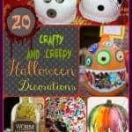 D - 20 Crafty Halloween Decorations - Words