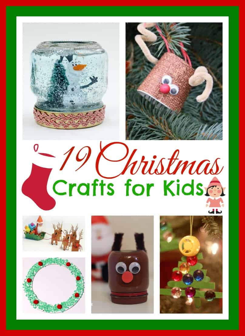 Fun and festive christmas crafts for kids
