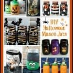 diy halloween mason jars