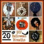 20 Cleverly Creepy DIY Halloween Wreaths