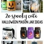 20 Spooky Cute DIY Halloween Mason Jar Ideas