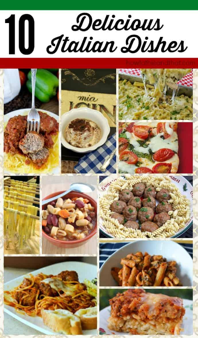 Italian Dishes Recipes