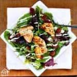 Keto Chicken Salad with Avocado Dressing