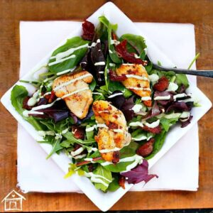 Lemon Peppered Chicken & Avocado Dressing 5