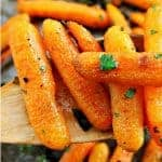 Oven Roasted Ranch Carrots