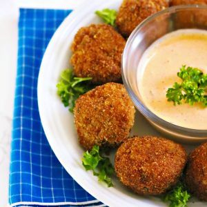 crab fritter recipe