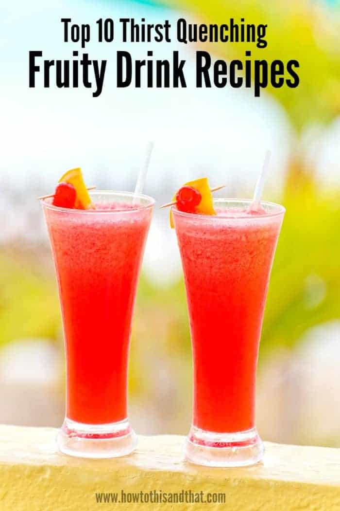 fruity drinks