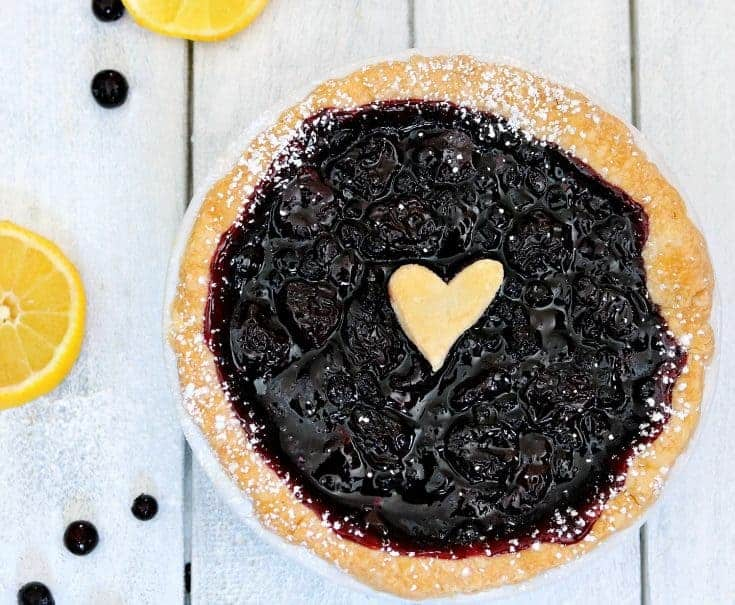 Easy Blueberry Pie or Tartlet Recipe