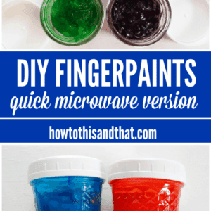 DIY Fingerpaints recipe