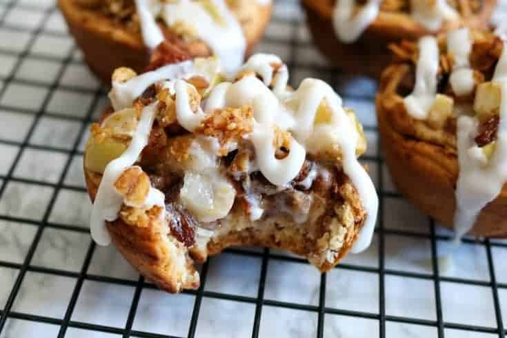 Mini Dutch Apple Pies featuring Great Grains Cereal #RealDelicious