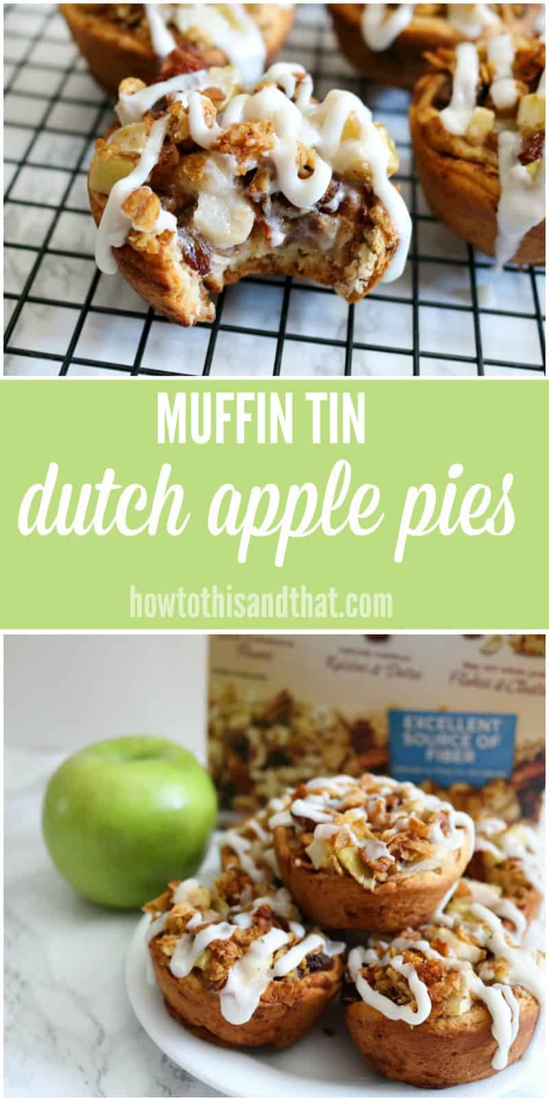 mini dutch apple pies