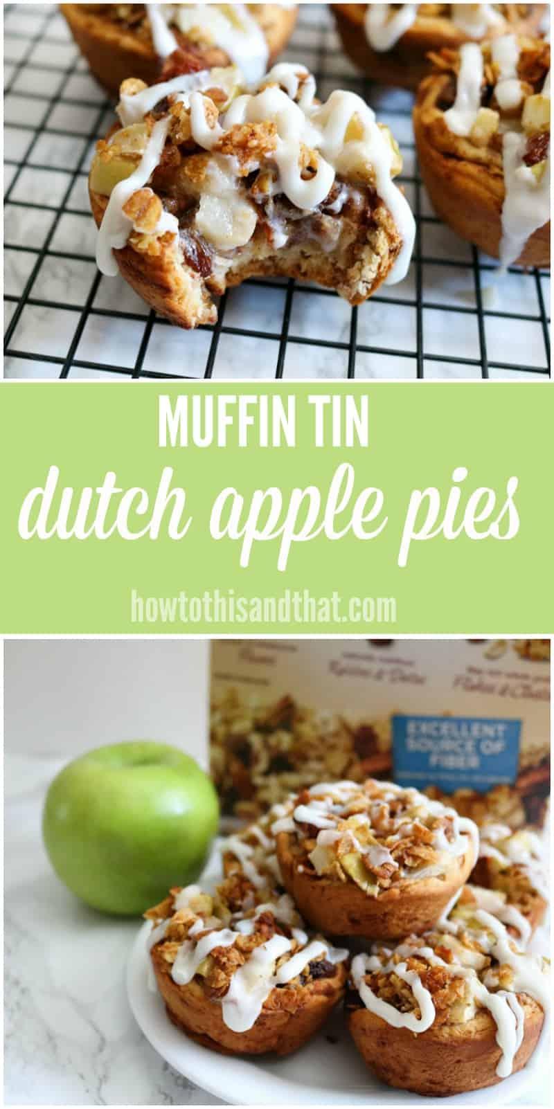 mini dutch apple pies