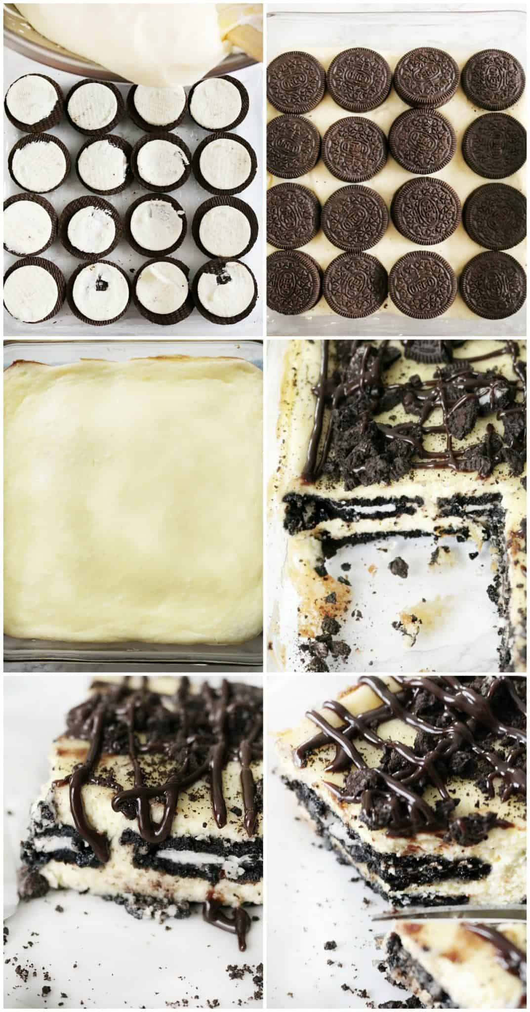 oreo cheesecake layered bars