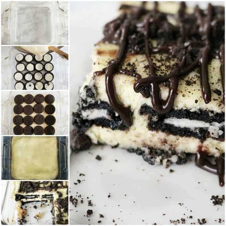 Oreo Cheesecake Layered Bars- Easy & Decadent
