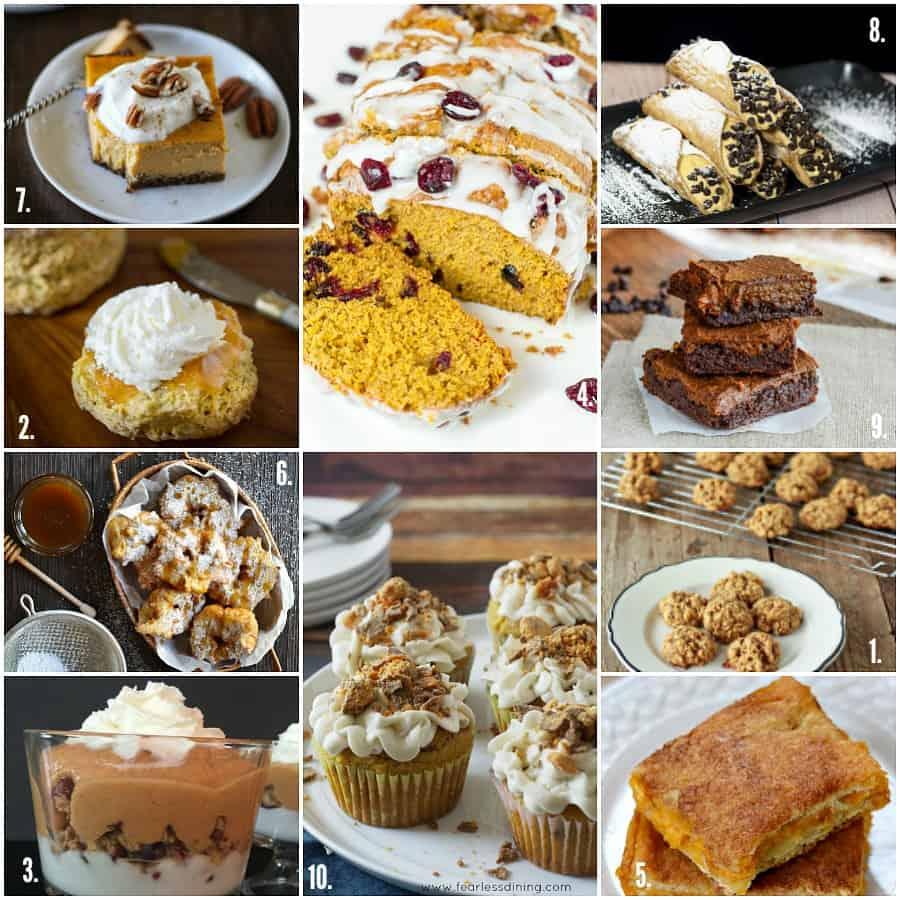 pumpkin dessert collage 1 -10