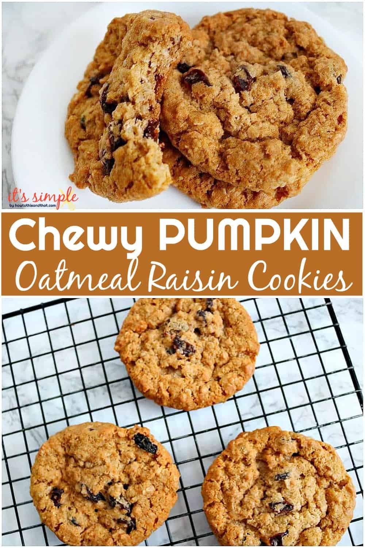 pumpkin oatmeal raisin
